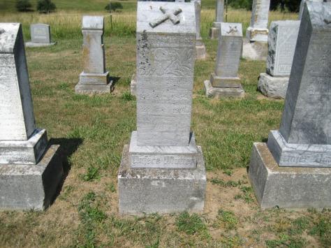 Ernstine Wachter gravestone Trinity