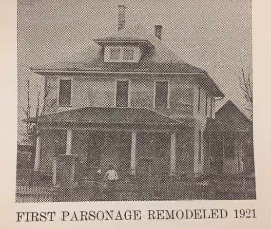 First Pocahontas Parsonage remodeled