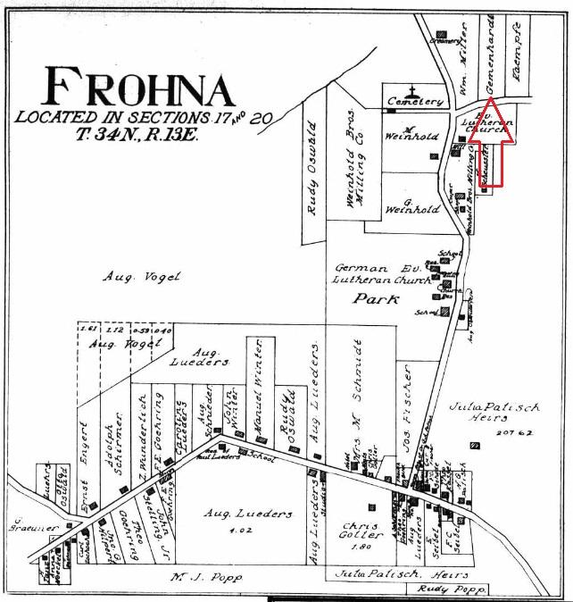 Frohna village 1915 Gemeinhardt