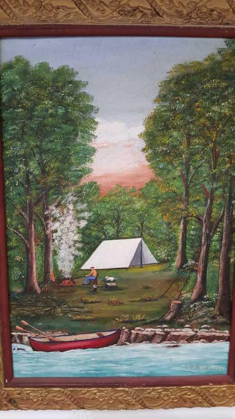 George Hilmer painting 2