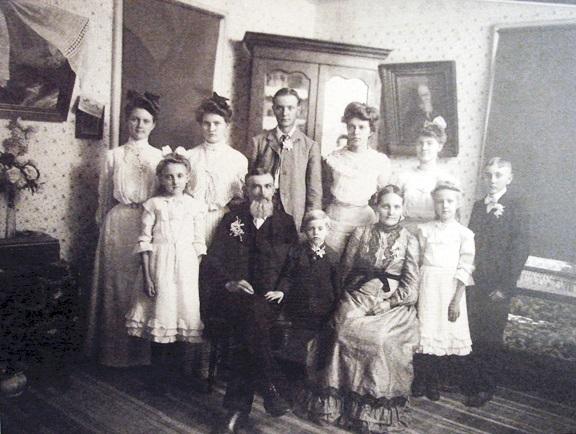 Gotthold Seibel family