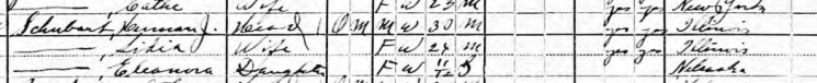 Herman Schubarth 1920 census Cheyenne County NE