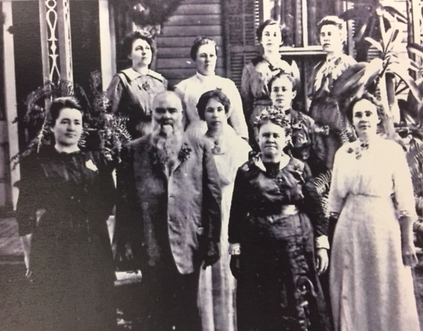 Joseph Weinhold family 1913 Golden Anniversary