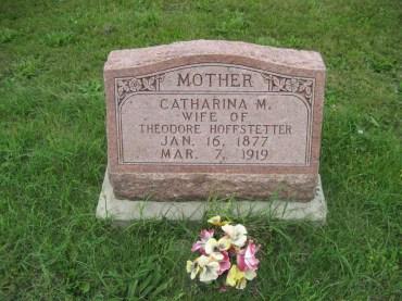 Lena Hoffstetter gravestone
