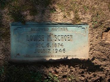 Louis Schoen gravestone Cape Girardeau