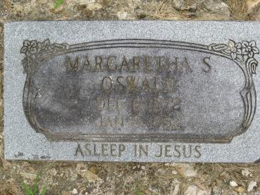 Margaretha Oswald gravestone