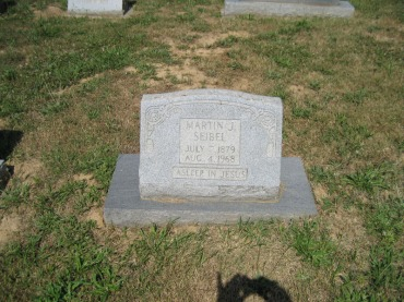 Martin Seibel gravestone Trinity