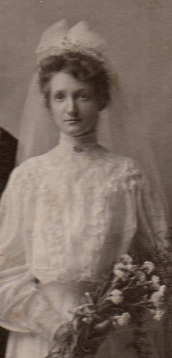 Mary Hilmer wedding photo