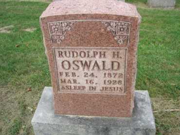 Rudolph Oswald gravestone Concordia Frohna