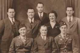 Theodore, Clara, and family
