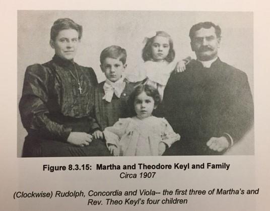 Theodore Keyl family 1907