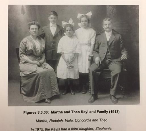 Theodore Keyl family 1913