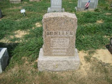 Theodore Mueller gravestone Trinity