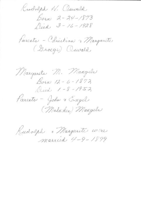 Wedding photo Rudolph Oswald & Margarete Mangels0002