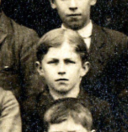 Adolph Kuehnert school photo enlarged