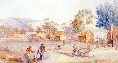 bethdraw Early Lutheran village Australia