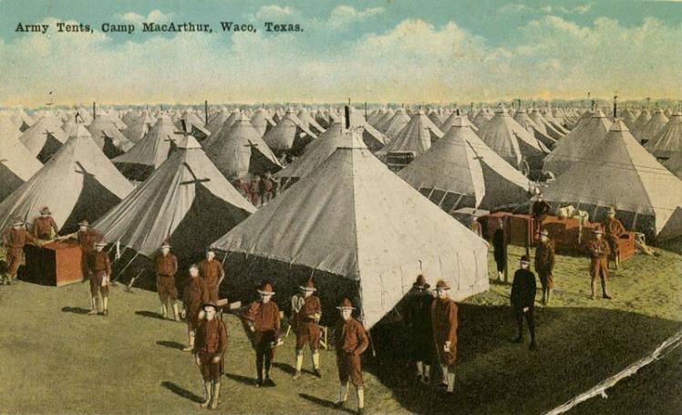Camp McArthur Texas WWI