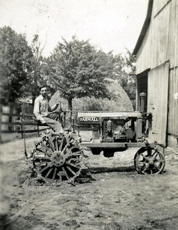 Erhard Gerler tractor X