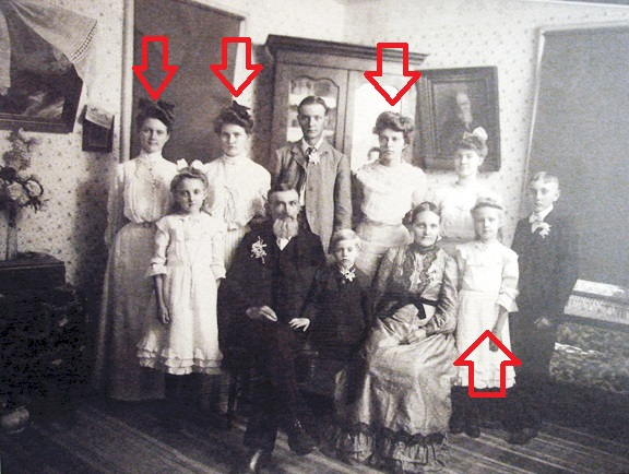 Gotthold Seibel family single daughters