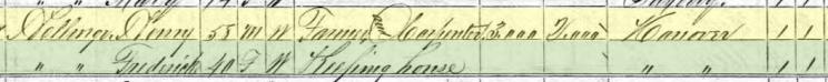 Heinrich Hellwege 1870 census Brazeau Township 1