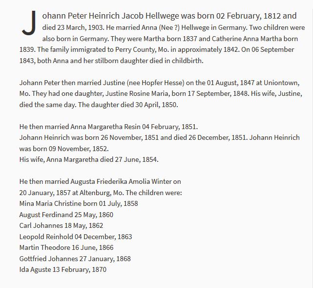 Heinrich Hellwege biographical info