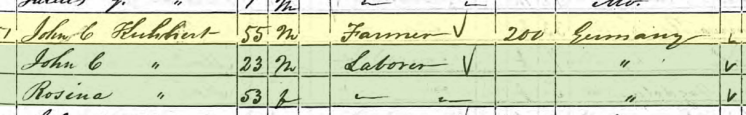 Johann Christlieb Kuehnert 1850 census Altenburg