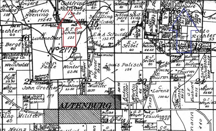 Noennig Kuehnert land 1915 Noennig Kuehnert