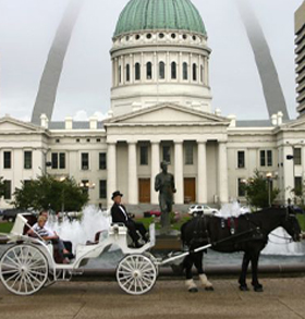St. Louis carriage ride