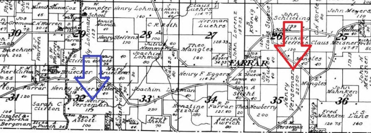 Versemann land map 1915