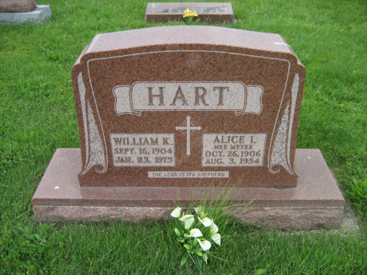 William Hart gravestone Immanuel Perryville