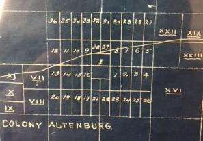 Central Altenburg Zion map