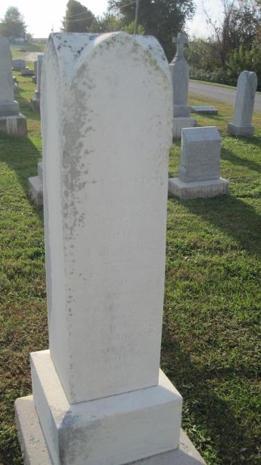 Gerhardt Steffens gravestone Salem Farrar