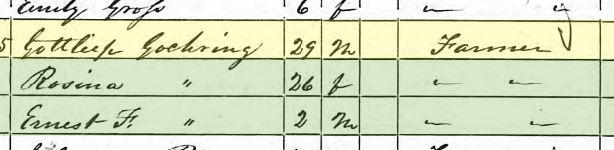 Gottlieb Goehring 1850 census Altenburg