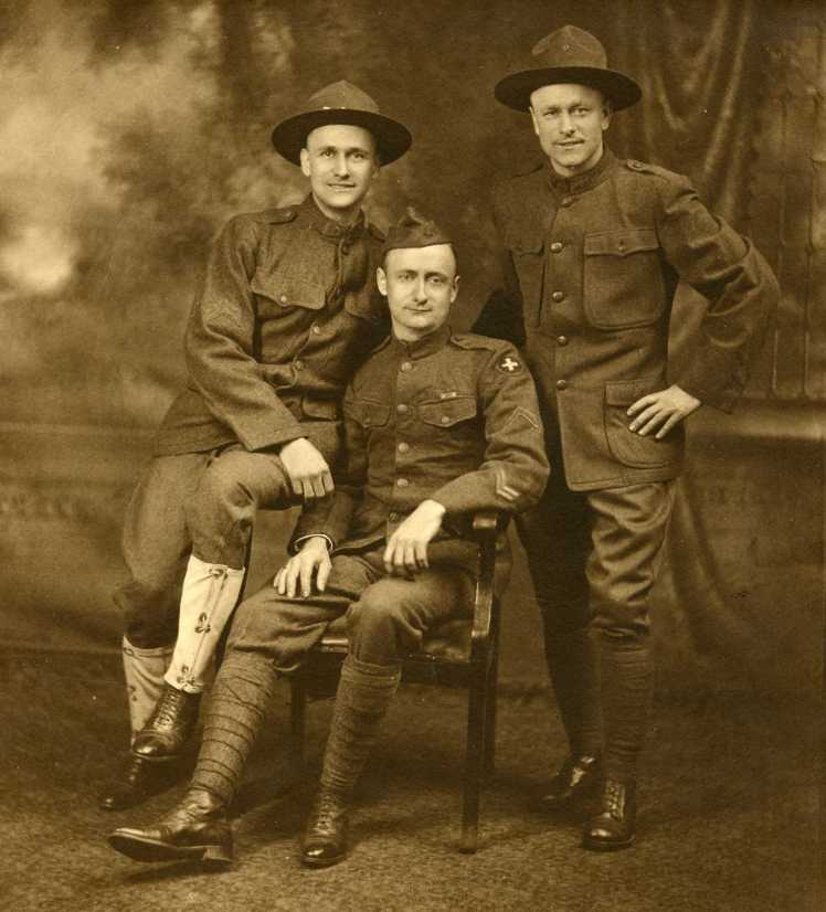 Harnagel brothers WWI