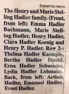 Heinrich Hadler family photo ID