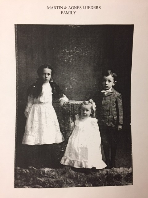 Martin and Agnes Lueders children