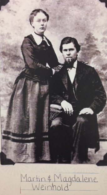 Martin and Magdalene Weinhold