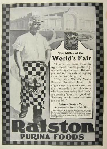 Ralston Purina World's Fair ad