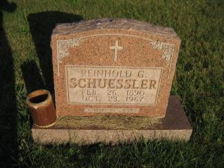 Reinhold Schuessler gravestone St. Paul Wittenberg