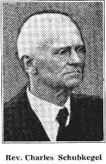 Rev. Charles Schubkegel