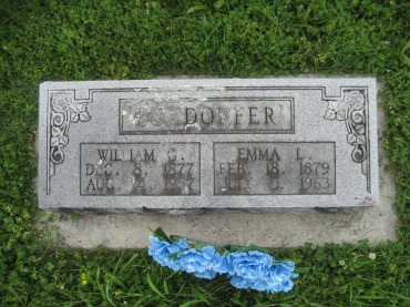 William G Boxdorfer gravestone Immanuel Perryville