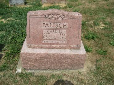 Carl Palisch gravestone Trinity Altenburg