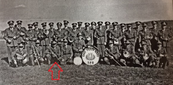 East Perry Band 1950 Edmund Mueller