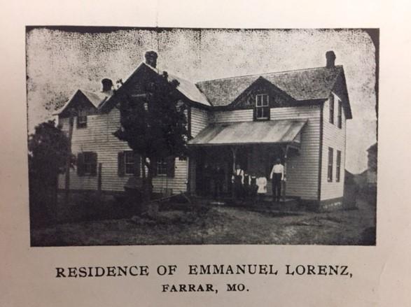 Emanuel Lorenz home Farrar