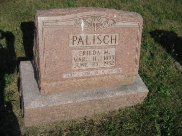 Frieda Palisch gravestone Trinity Altenburg