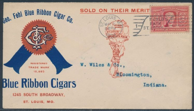 George Fehl Blue Ribbon Cigar Co.