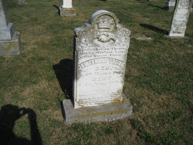 Johann Theiss gravestone Trinity Altenburg