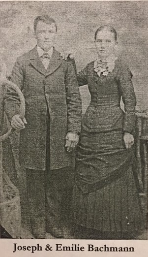 Joseph and Emilie Schmidt Bachmann