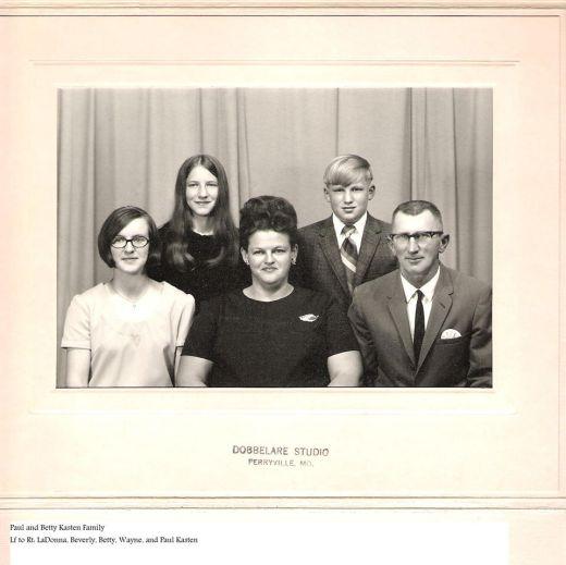 Paul Kasten family