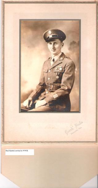 Paul Kasten military WWII